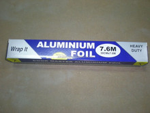 aluminium foil roll standard width and thickness for food wrapping