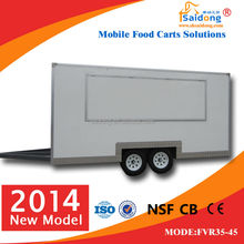 Fashional ,Economic ,Electric with more functions Street Food Van/hamburger vending truck