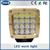 Most popular products portable LED 12v work lights, green truck LED lights, LED lighting work lights with cree chip