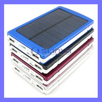 New Arrival Dual USB 10000mAh Solar Battery Charger