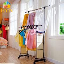 Byn secado de la ropa estante de metal estante de la ropa dq-0813 r1