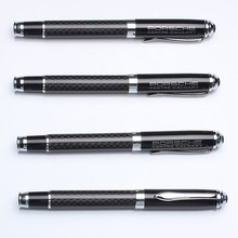 Luxury carbon fiber designed Featured metal promotional rollerball pen