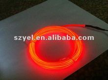 Lowest Price Coloful Flashing EL Wire/ LED Wire for Cloth Decoration