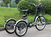 Good performance electric tricycle with big baskets for elders