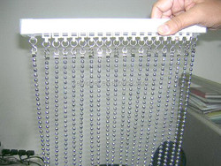 metal beaded door curtain for screen and room dividers