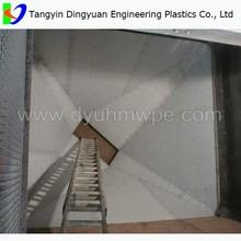 hot sale best quality uhmwpe liner/lining,bunker liner,hopper liner