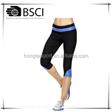Tights shorts Pants Women Running Tights Fitness Clothing Active Legging mesh