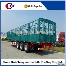 animal transport vehicle :cargo stake semi trailer on sale
