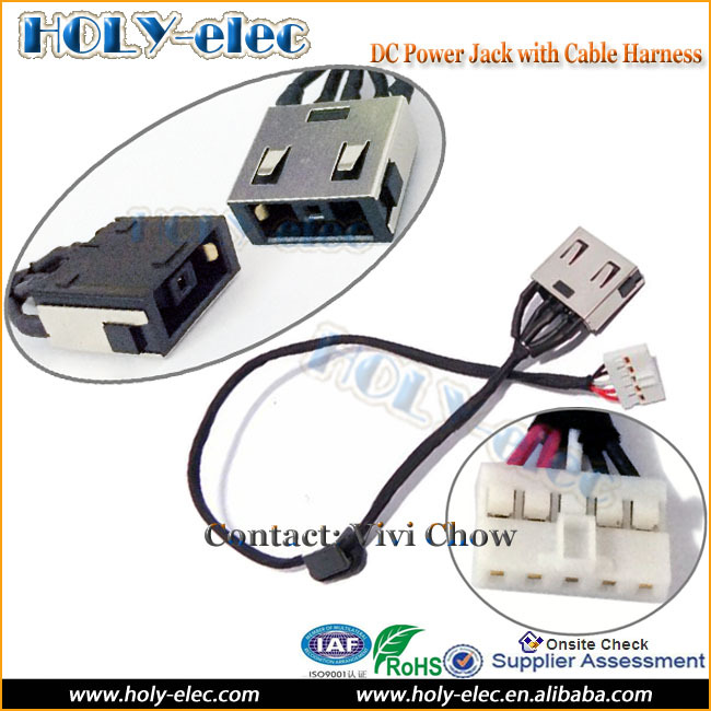 DC POWER JACK HARNESS PLUG IN CABLE for LENOVO ideapad G50 G50-70 G50-80 85 90