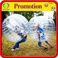 súper clara bola bola de parachoques rebote para adultos,caminar en la bola de la burbuja de plástico