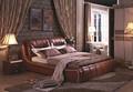 Camas, elegante com o clássico com o novo designand elegante cama, mordern casa quente e macia cama, a288