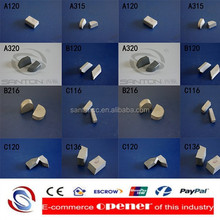 hot sale traditional welding type cemented tungsten carbide brazed tips solid quality as Japan Swedish Sweden industry use china