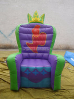 sofa customized inflatable brand white model for promotion