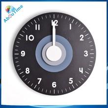 Unusual clock/new design clock/plastic wall clock battery operated