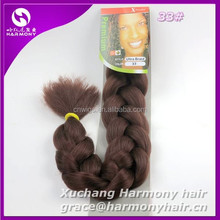 HARMONY WHOLESALE braiding hair X pression/X-pression ultra braid mixed color in stock