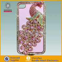 Hot & new! For iphone4 bling case covers, crystal case covers for iphone 4s/4