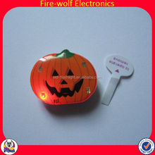 Small Romantic Valentine Gifts Party Supplies Button Custom Custom Printing Badge With Led Light