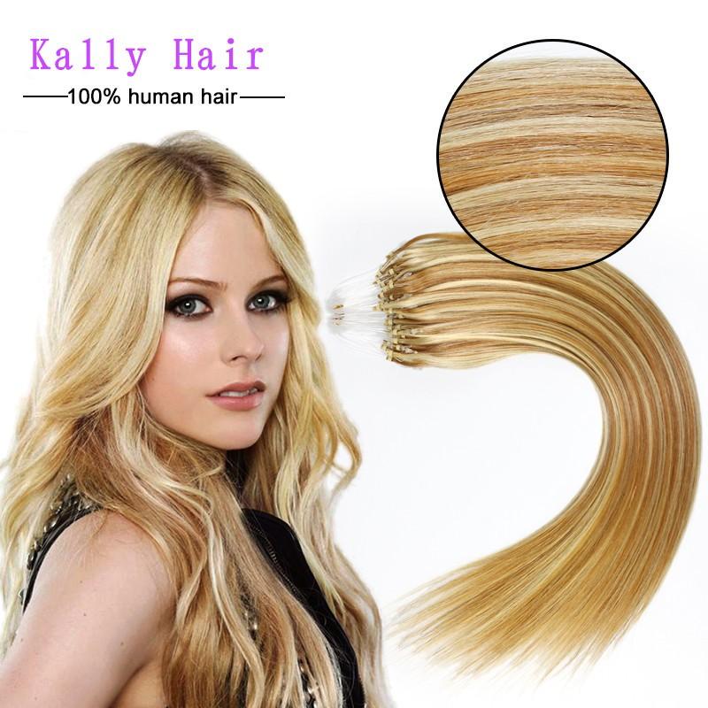 6a Grade Fashion Keratin Fusion Loop Tip Hair100 Cheap Indian Remy