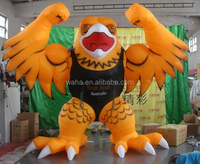 Color custom/Yellow inflatable eagle/oxford/muscle eagle/bird/cartoon-3m W491