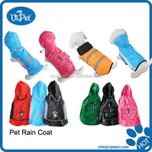 Pet Waterproof comfortable and cheap raincoat for dog