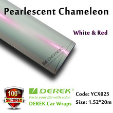 Car Paint Protection Glossy Pearl White Car Wrap Vinyl Film