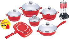 23pcs ceramic cookware