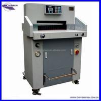 Hydraulic paper cutter guillotine heavy duty paper cutting machine