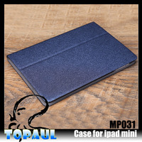 plain style leather cover Universal tablet case for ipad mini 3