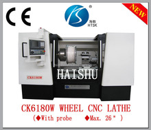 Rim Repair digitizer probe Car Wheel CNC Lathe Machine Equipment CK6180W