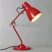 Traditional colorful student desk lamp table lamp
