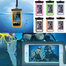 """WaterProof Swimming Camera Phone Bag Case Cover For iPhone Samsung 4"""" to 6"""""""