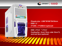 Deluxe White Color ATX Computer Case