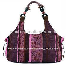 vintage señoras hecho a mano bolsa étnica