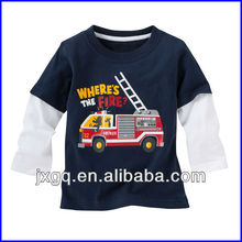 T shirt 100 cotton export quality custom design long sleeve kids ring spun 100 cotton t shirt