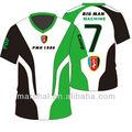 camiseta de fútbol de sublimación de nuevo diseño con alta calidad por encargo en precio razonable de la fabricación