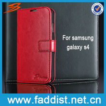 Deep red phone case for galaxy s4 case