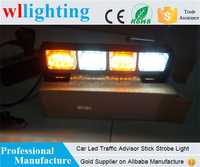 Automotive 12 LED Car Strobe Light Emergency Traffic Advisor Warning Lights