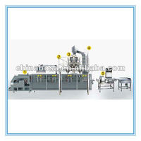 standing bag filling and sealing machine for jerky