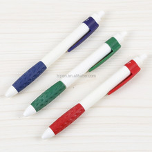 custom logo cheap swing silicone promotional advertising ball pen