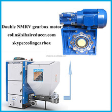 Power transmission NMRV030/050 double worm gearboxes with dc motor