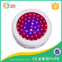 High Efficient round 50W Led Grow Light for house room plants materials