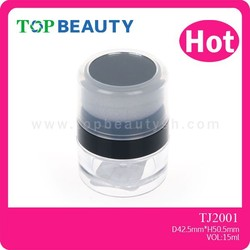 TJ2001-2 Loose Powder Container With Brush,Loose Powder Container,Loose Powder Cosmetic Jars