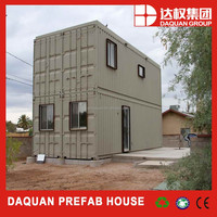two 40 ft container house linked modified container house for personal living