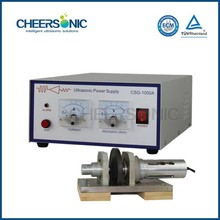 High quality ultrasonic fabric, fleeces and foils sewing machine