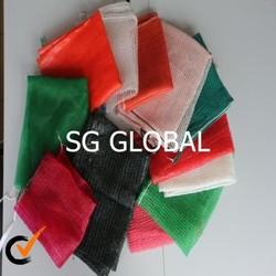 Small pp leno mesh bag for oranges