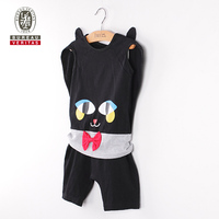 Kids summer clothes 2012 handsome cat cosplay kids clothes usa