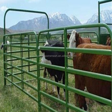 PVC coated/steel corral panels/sheep/goat/horse barns for ranch/farm/field/cattle fence(delivery fast&factory price)