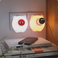 Pig Socket Night Sensor Light Christmas Gifts Kids bedroom night light