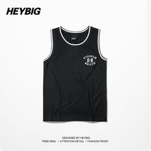 Malaysia new style latest design men basketball jersey/tank top wholesale