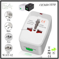 International All-IN-ONE Universal Travel Power Charger Plug Adapter US/EU/UK/AU , Dropshipping Wholesale